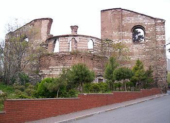 Τα ερείπια της Μονής Στουδίου, όπως είναι σήμερα