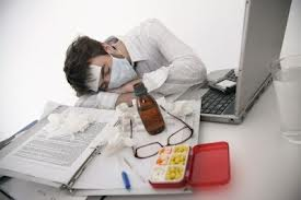 sick in the office