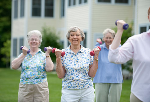 Strong bones after menopause