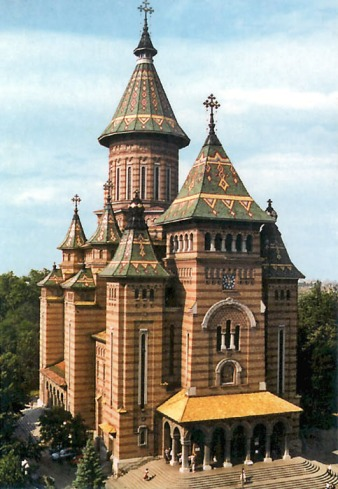 orthodox cathedral in timisoara