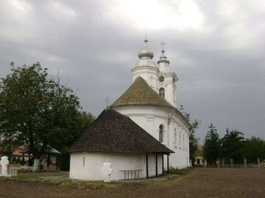 Partos monastery - the old and the new church