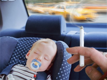 Pollution from vehicles is equally severe with passive smoking on childhood asthma