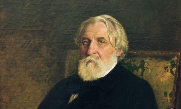 Ο Ιβάν Τουργκένιεφ σε ελαιογραφία του Ιλιά Ρέπιν, 1876. (πηγή: wikipedia)