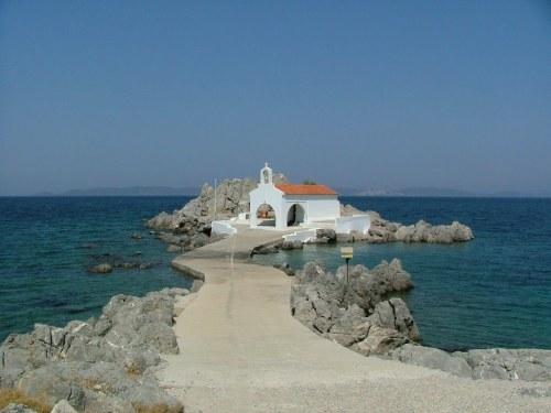 Ο Άγιος Ισίδωρος στο Παντουκιός της Χίου