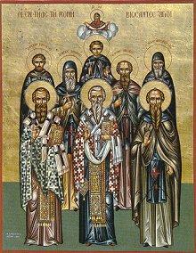 Οι Όσιοι Πατέρες ημών Δομέτιος και Ιάκωβος Στη Μονή του Εσφιγμένου ή στην περιφέρειά της διήνυσαν τους ασκητικούς τους αγώνες κι ευαρέστησαν το Θεό οι Όσιοι Πατέρες Ιάκωβος και Δομέτιος. Μη υπαρχόντων γραπτών στοιχείων λόγω των ιστορικών περιπετειών της Μονής εξαιτίας των επανειλημμένων καταδρομών, πυρκαϊών και ερημώσεων, σώζεται μόνο η μνήμη και τα ονόματά τους εκ παραδόσεως των πατέρων.
