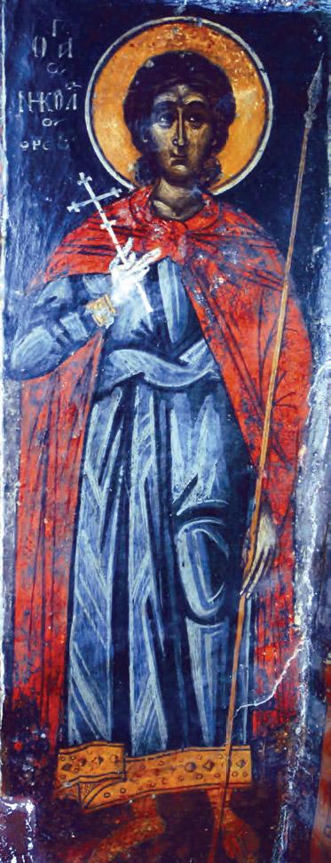 Άγιος Νικόλαος ο εν Βουνένοις (Νωπογραφία 12ος αι. μ.Χ.)