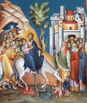 Η θριαμβευτική είσοδος του Κυρίου στην Ιερουσαλήμ