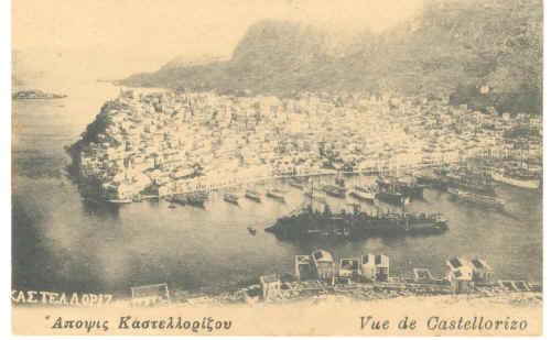 Το καστελόριζο το 1916