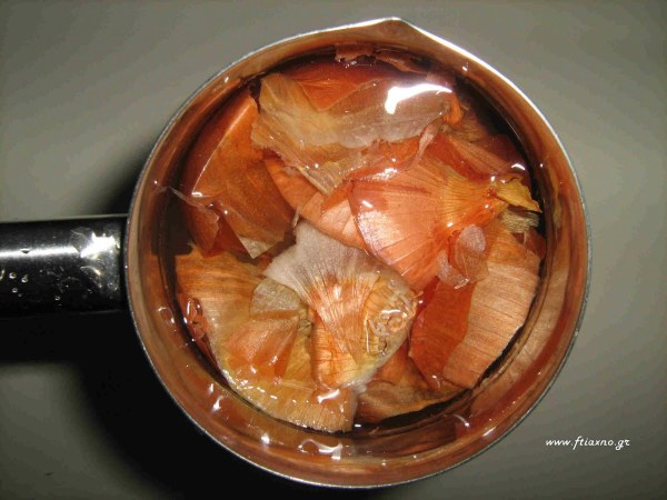 Onions in water