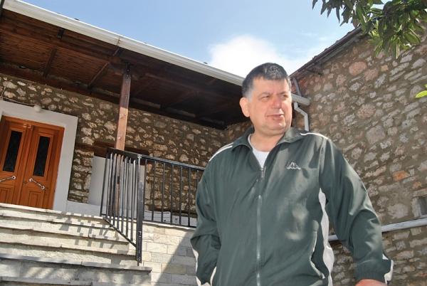 Ο ανιψιός του γέροντας, Χρήστος Εζνεπίδης
