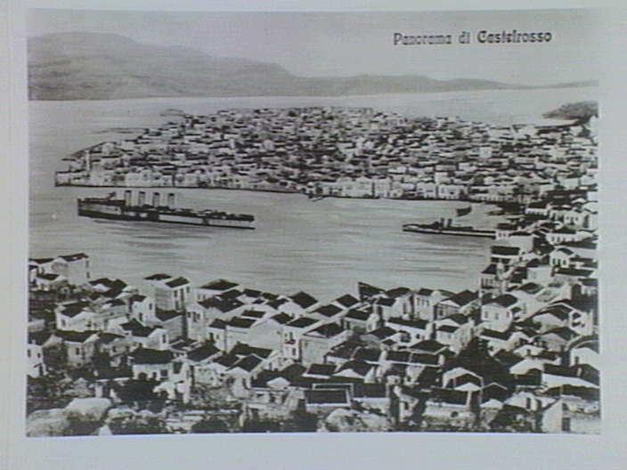 Ιταλικά πλοία στο Καστελόριζο