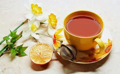 κανέλα, μέλι και λεμόνι
