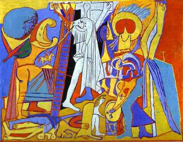 Crucifixion, Pablo Picasso, 1930
