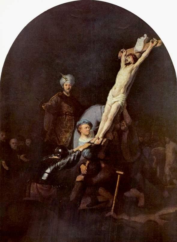 Crucifixion, Rembrandt