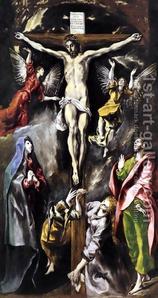 Crucifixion, El Grego 1596-1600