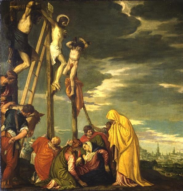 Crucifixion, Veronese, 1580